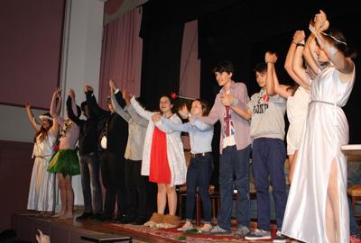 El grupo teatral en una imagen de archivo.